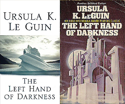 Different covers for The Left Hand of Darkness