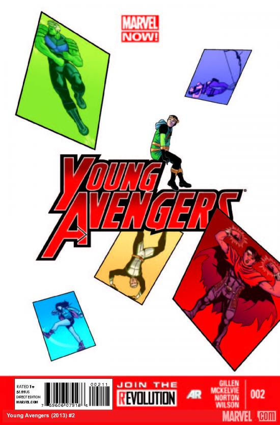 Young Avengers 2 Cover