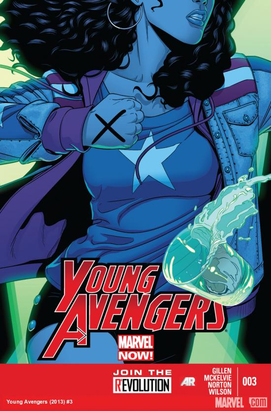 Young Avengers 3 Cover