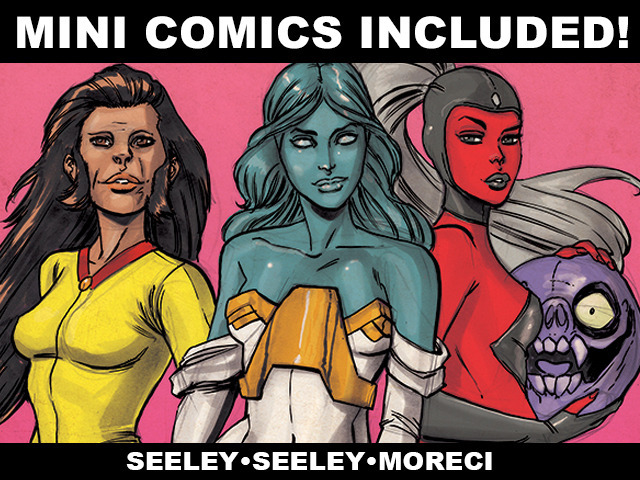 Relive Your Childhood With Mini Comics Included Kickstarter