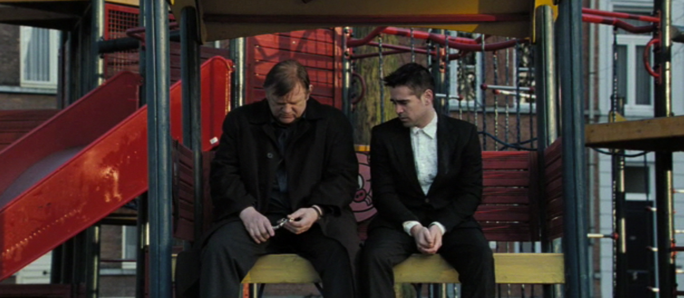 movie review in bruges nerdspan the brilliant playground scene