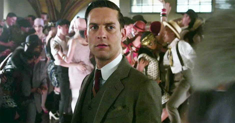 The Great Gatsby Nick Carraway Toby maguire as nick carraway