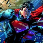 Detail from the cover of Superman Unchained #1. Art by Jim Lee and Scott Williams.