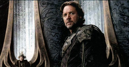 Russell Crows as Jor-El