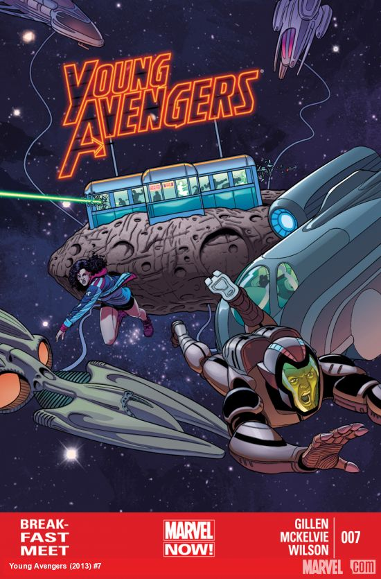 Young Avengers 7 Cover
