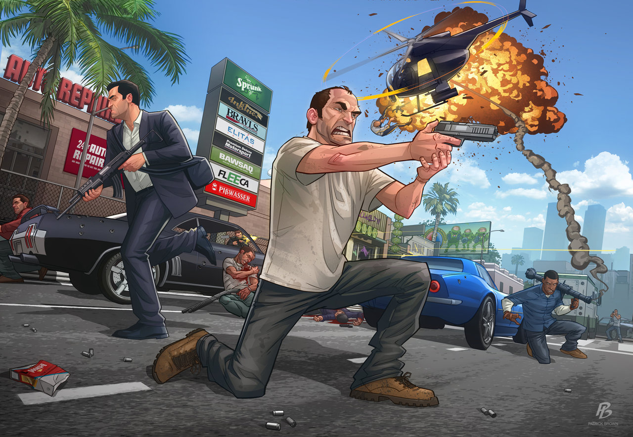 Bonus Stage: Grand Theft Auto V Edition