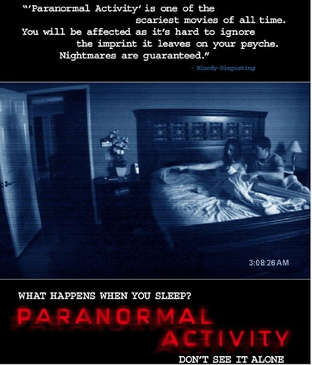 October Fright Fest: The Paranormal Activity Films