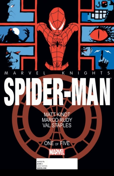 Comic review: Marvel Knights' Spider-Man #1 – Kindt / Rudy