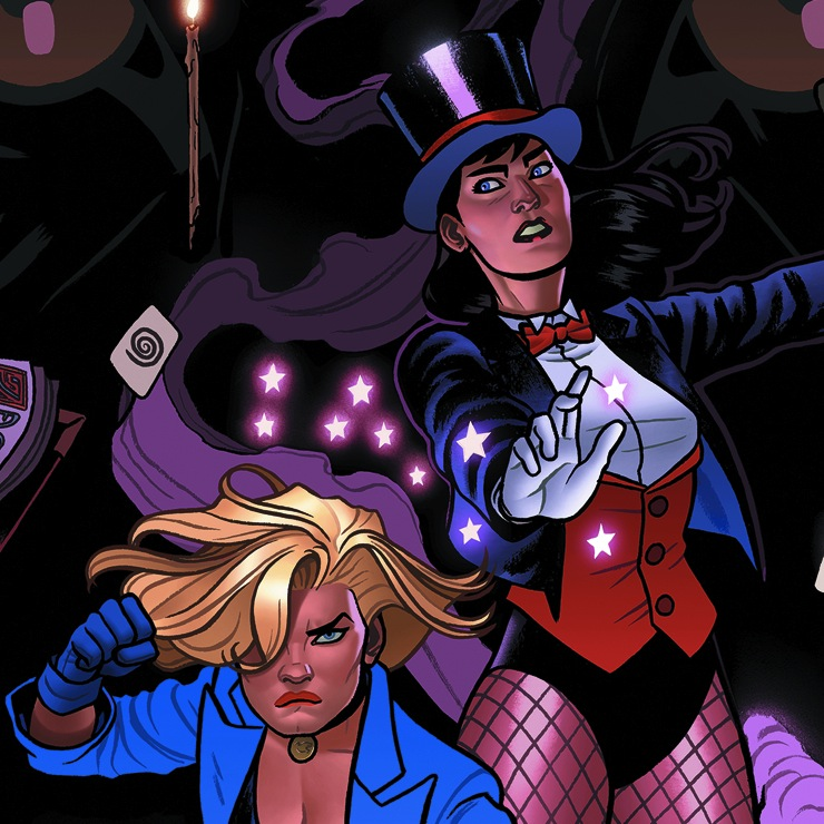 Graphic Novel Review: Black Canary & Zatanna: Bloodspell