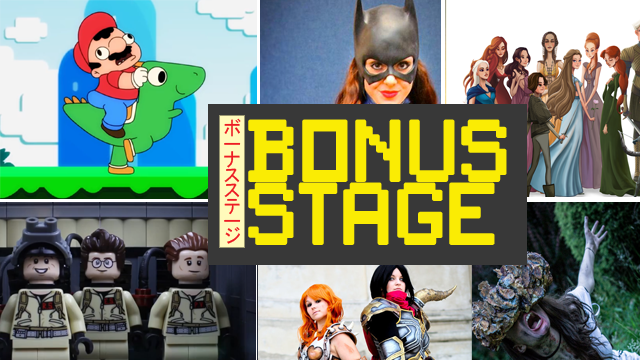 Bonus Stage: Metal Gear Solid, Batgirl, Mario World and more