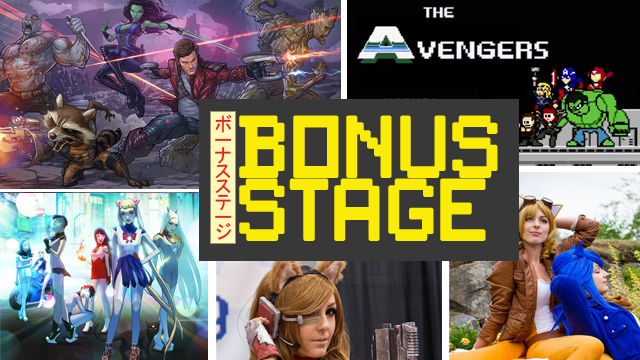 Bonus Stage: Guardians Of The Galaxy, Sailor Moon and more