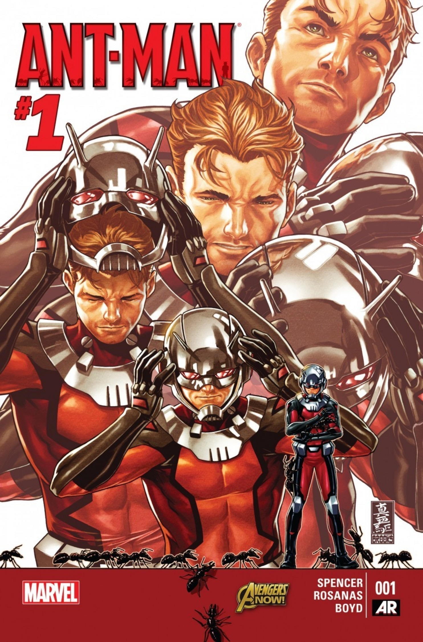 Ant-Man #1 by Nick Spencer and Ramon Rosanas