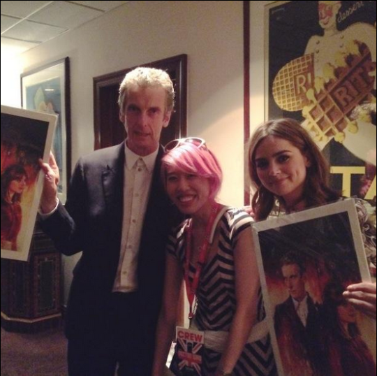 Artist Alice X Zhang Presents Twelfth Doctor Cover To Capaldi And