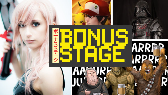 Bonus Stage: Pokemon, Star Wars, Final Fantasy and More