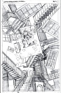 JLA Dark page 4 Pencil scan