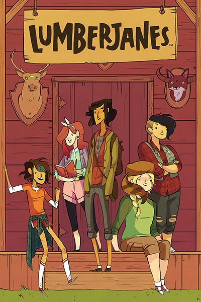 Image result for lumberjanes kitten holy