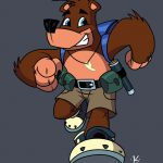 Banjo-Kazooie Cartoon