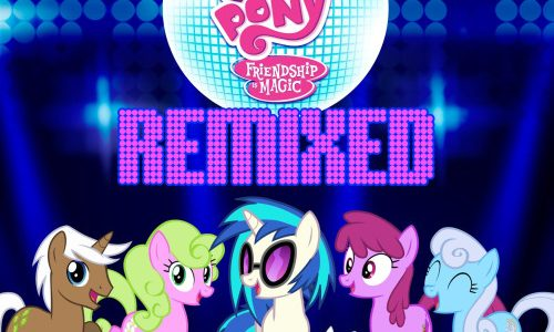DJ PON3 Presents My Little Pony: Friendship is Magic Remixed (June 23rd)