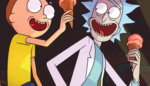 Rick and Morty #1 3rd Print In Stores; Series Now Available in the UK