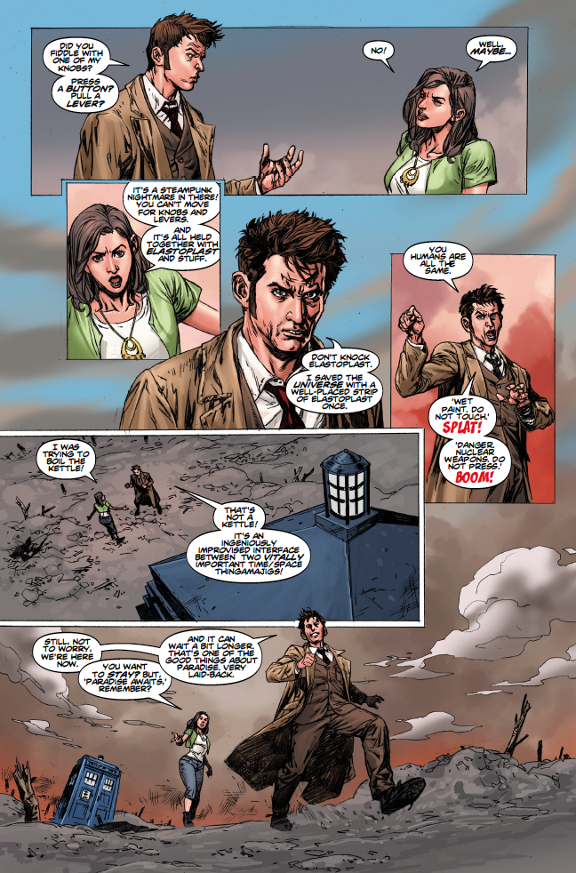 The Weeping Angels of Mons The Tenth Doctor Volume 2 Doctor Who