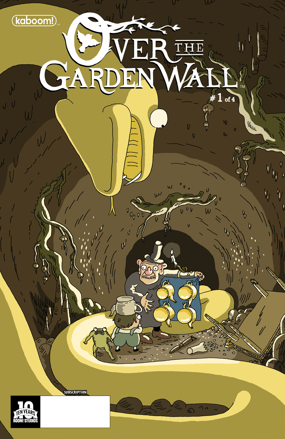 Over the garden wall comic release : Sid the science kid season 1 ...