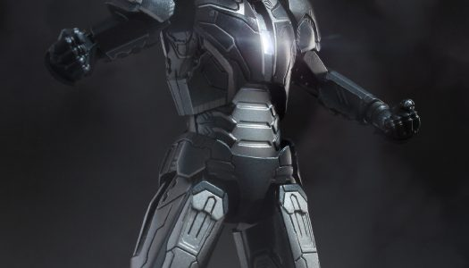 Comicave Releases 1/12 Scale Iron Man 3 Shotgun Figurine With LED Eyes and Chest