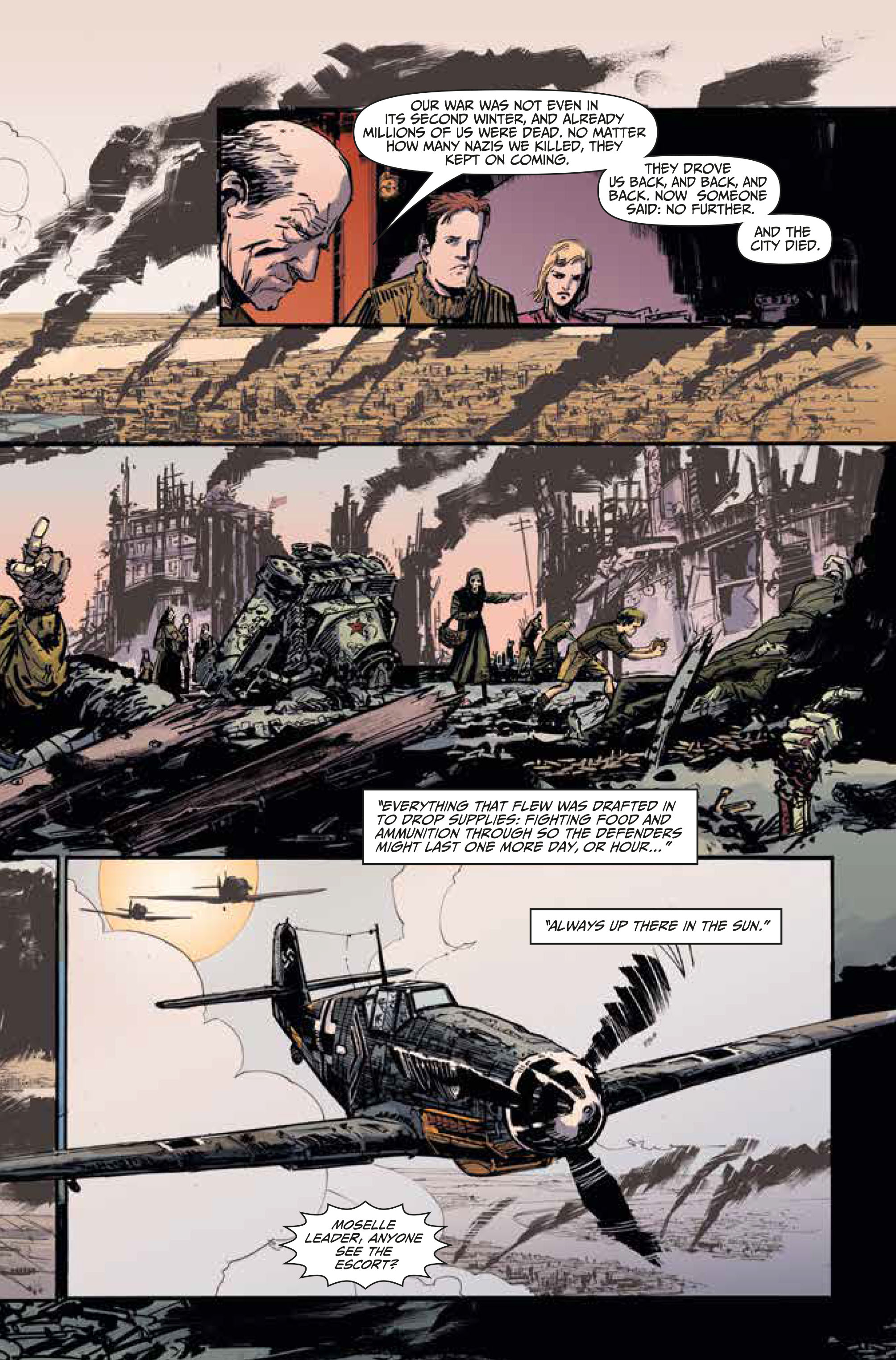 Johnny Red #1 by Garth Ennis and Keith Burns (Preview) - NerdSpan