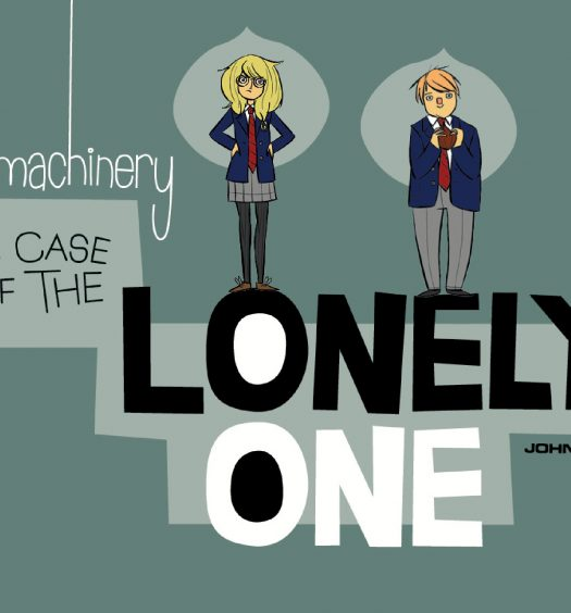 Bad Machinery: the Lonely One Cover