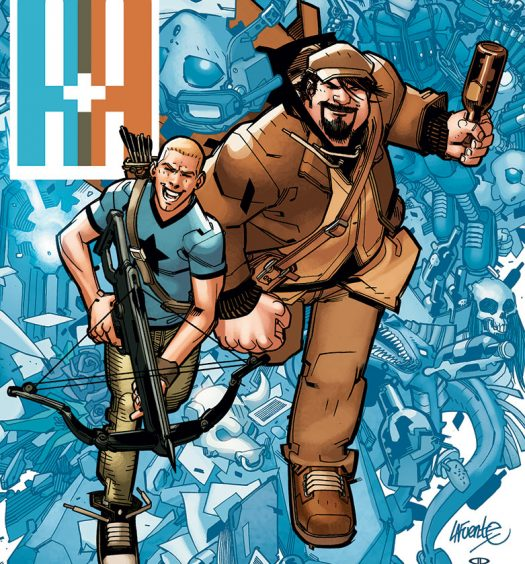 A+A: The New Adventures of Archer and Armstrong #1