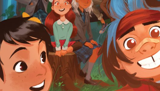 Gotham Academy and Lumberjanes Crossing Over in June