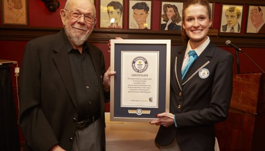 "Al Jaffee Celebrates ""Longest Career as a Comics Artist,"" Receives Guinness World Record"