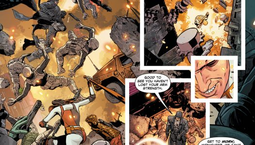 Five Page Preview of Midnighter #12 by Steve Orlando, ACO, & Hugo Petrus