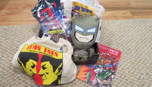 Loot Crate Pets March 2016: VERSUS (Review)
