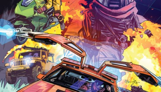 IDW Adds M.A.S.K. to Growing Line of Comic Book Adaptations of Hasbro Toys