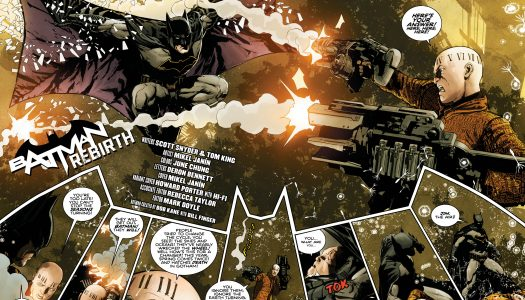 5 Page Preview of Batman: Rebirth #1 by Scott Snyder, Tom King, and Mikel Janin