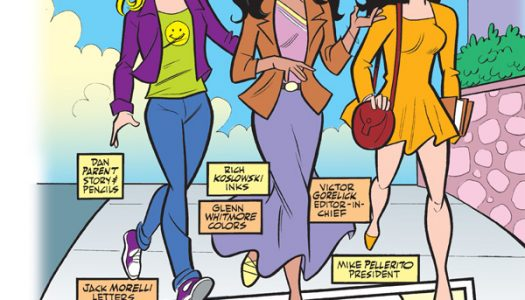 "Preview: Dan Parent's ""Hooray for Bollywood"" Brings Back Amisha Mehta in New Archie Story"