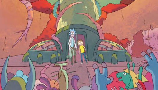 May 25th Oni Previews: Another Castle #3, Rick and Morty #14, and More