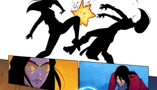 4 Page Advance Preview of Spider-Women Omega #1