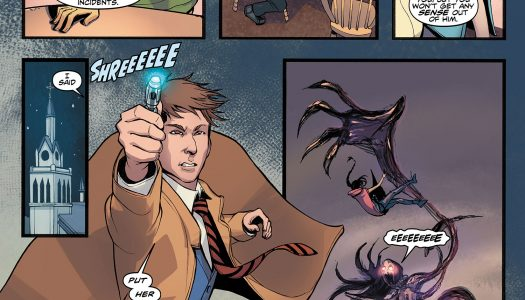 3 Page Preview of Doctor Who: The Tenth Doctor #2.9