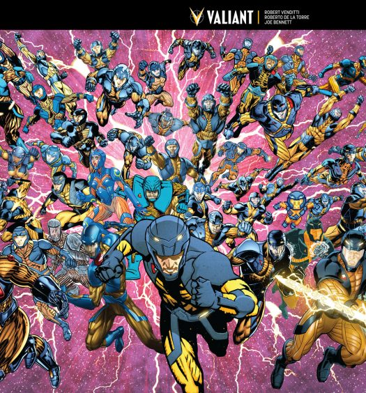 Valiant Free Comic Book Day: 25 Years Of Valiant Celebrated In FCBD Special And More