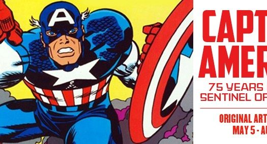 ToonSeum Announces Free Lecture Event: Super Soldiers: Captain America and the U.S. Military