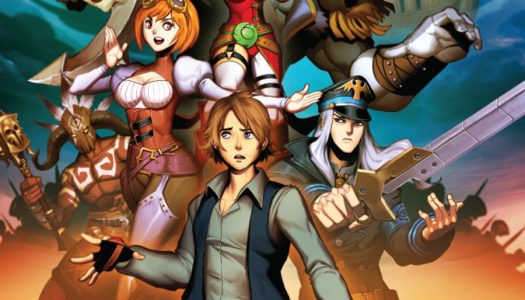 Dynamite and Mechanist Games Announce Heroes of Skyrealm Comics