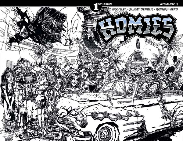 dynamite announces new homies series and retrospective hardcover