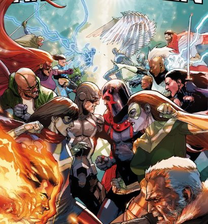 Inhumans vs. X-Men #1