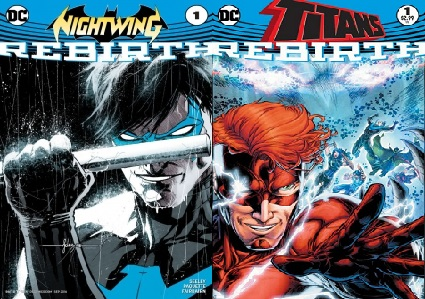DC Rebirth – Crossing Back #4 – Nightwing/The Titans