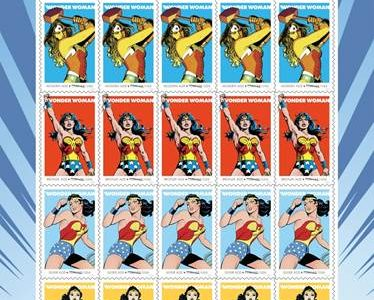 Wonder Woman Forever Stamps Commemorate 75th Anniversary of DC Icon