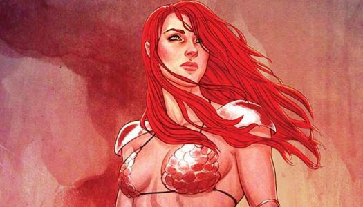 Gail Simone Penning Red Sonja Video Game for F84 Games