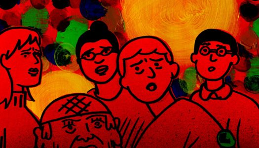 Cartoonist Dash Shaw's My Entire High School is Sinking Into the Sea to Play at NYFF and TIFF