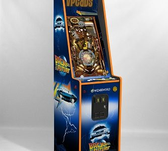 Wizard World Chicago and Michael J. Fox Foundation to Sell Back to the Future Pinball at Charity Auction