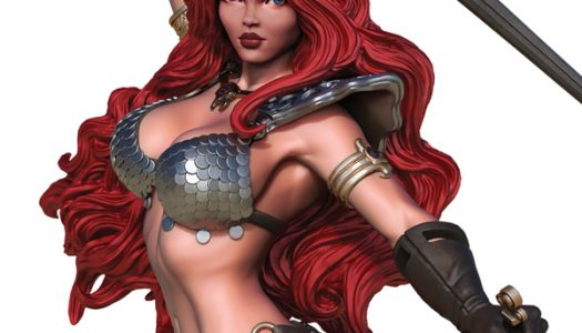 New Red Sonja and Vampirella Statuettes Arriving this Holiday Season
